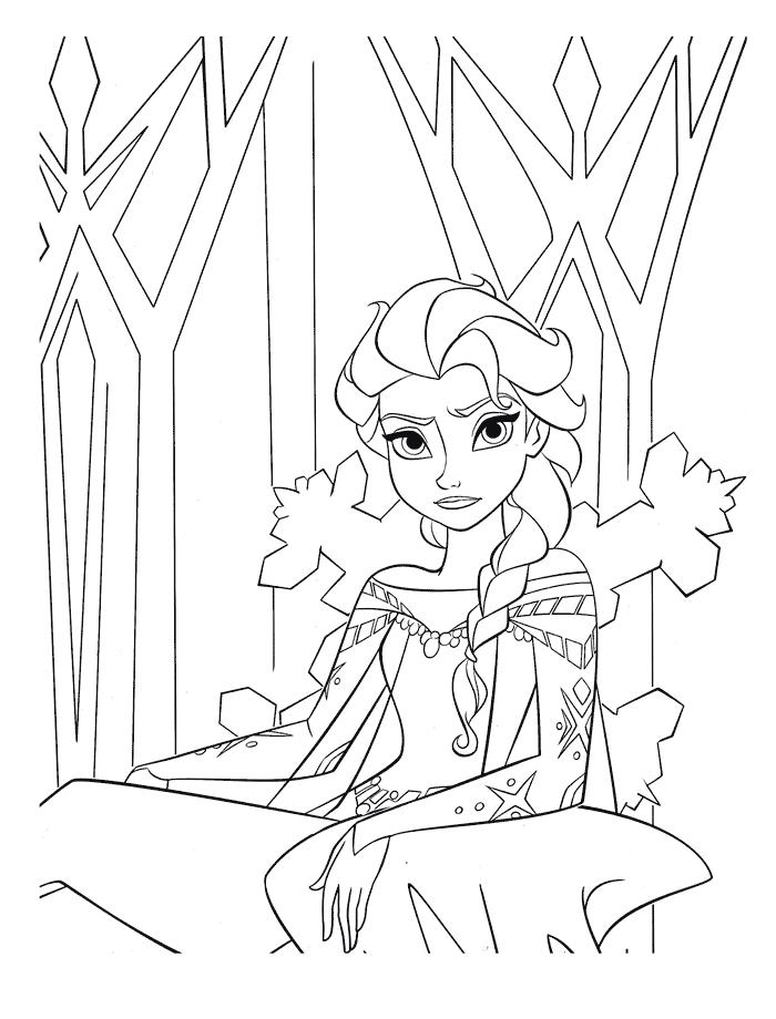 D couvrez nos 45 coloriages gratuit de la reine des neiges - La reine des neiges jeu gratuit ...
